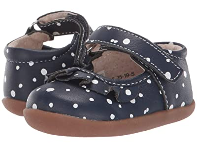 See Kai Run Kids Belle II (Infant/Toddler) (Navy Snowflakes) Girls Shoes