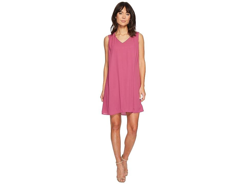 B Collection by Bobeau Iban Shift Dress (Magneta Haze) Women