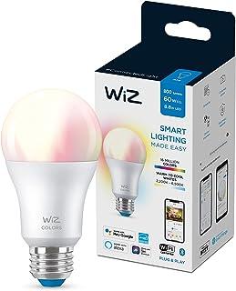 WiZ Wi-Fi Color + Tunable White Bulb /9W A60 806lm, 2 Years Warranty