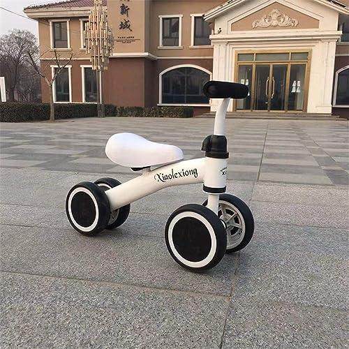 venderse como panqueques WYD Baby Baby Baby Balance Car Los Niños viajan en Juguetes Bicicleta Triciclo Triciclo de Ruedas para Niños Andadores de Bicicletas para Niños de 1 a 3 años de Edad, blanco  despacho de tienda