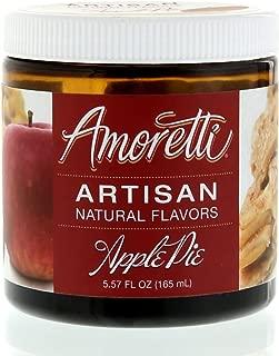 Amoretti Natural Artisan Flavor Apple Pie, 5.57 Fluid Ounce