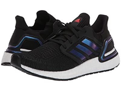 adidas Kids UltraBOOST 20 (Big Kid) (Black/Blue Metallic/White) Kid