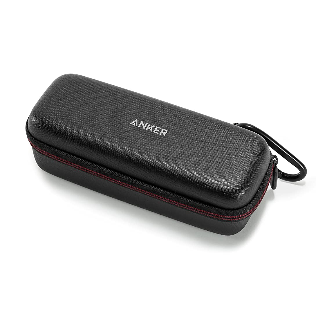 Anker SoundCore Official Travel Case (for Anker SoundCore/SoundCore 2 /Motion B Bluetooth Speaker ONLY) - PU Leather Premium Protection Carry Case mk5927615