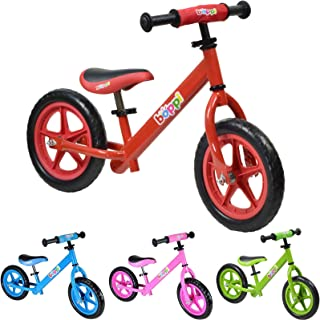boppi Bicicleta sin Pedales de Metal para niños DE 2-5 Anos - Roja