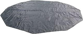 DANCHEL Tent Footprint Mat Tarps for Bell Tent, Color Black