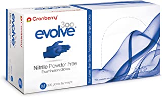 cranberry gloves nitrile