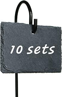 10 Sets Slate Plan Labels Signs, 2.75