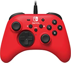 Nintendo Switch HORIPAD Wired Controller (Red) by HORI - Licensed by Nintendo