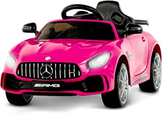 Uenjoy Electric Kids Ride On Car Mercedes Benz AMG GTR Motorized Vehicles with Remote..