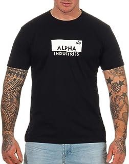 ALPHA INDUSTRIES Men's Box Logo T T-Shirt