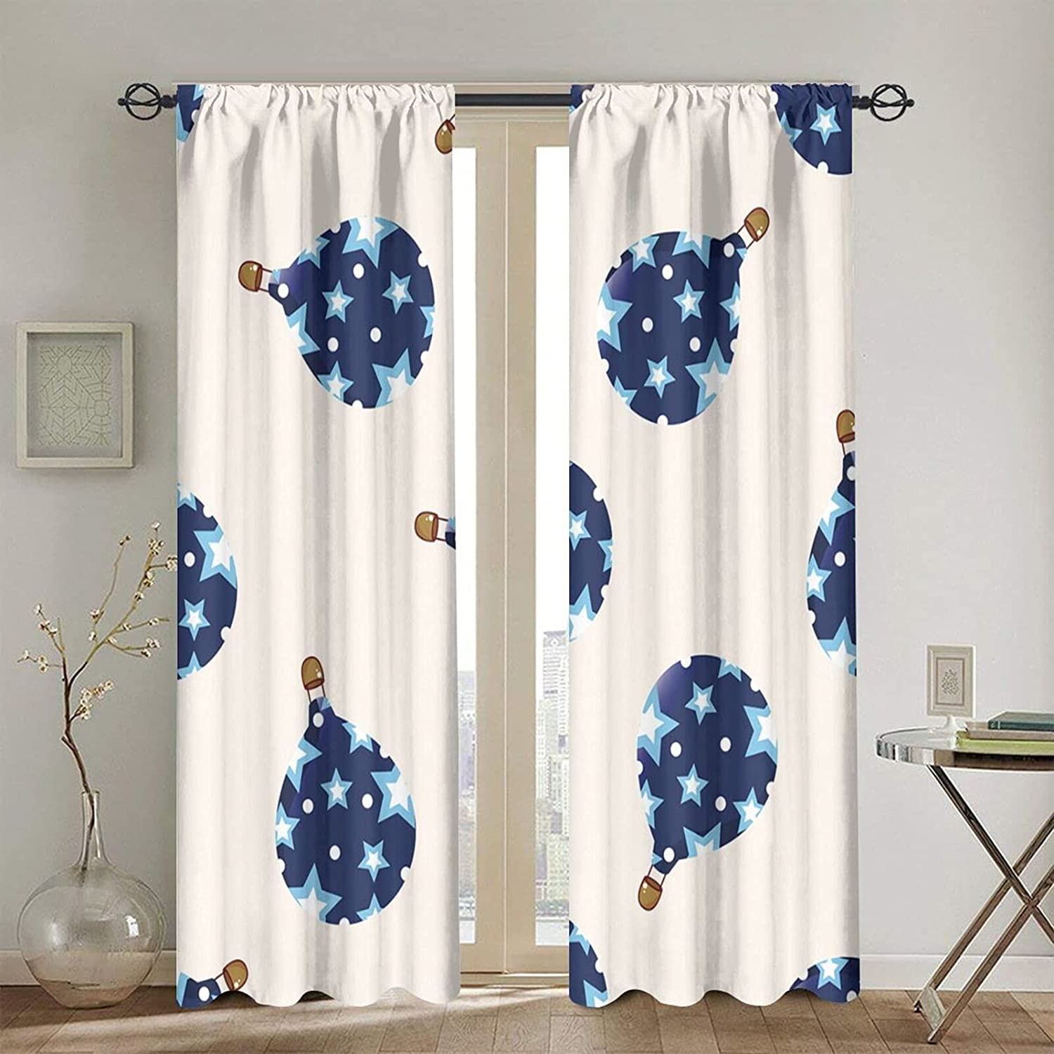 Rod Pocket Blackout Curtains Thermal Popular Free Shipping Cheap Bargain Gift popular Curtain Insulated Window St