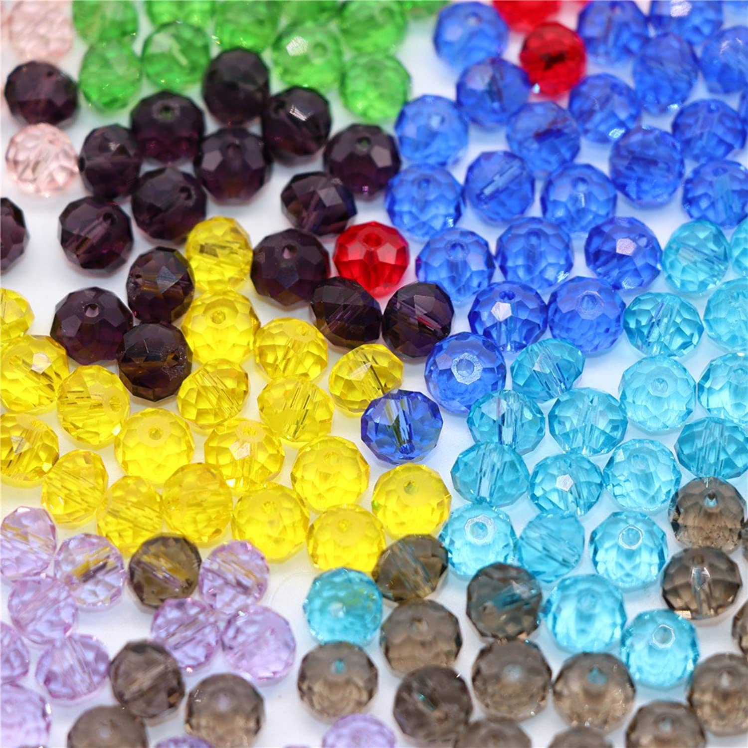 Waltz & F 4mm10 colors 1000pcs MIX crystal glass beads San catcher material parts colorful handicraft handmade accessories handmade parts Goods
