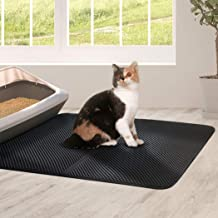 Large Waterproof Double Layer Cat Litter Mat Trapper Foldable Pad Pet Rug Pads