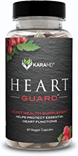 KaraMD Heart Guard (30 Servings) | Doctor Formulated Natural & Non-GMO Cardiovascular Heart Health & Blood Pressure Supple...