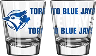 Toronto Blue Jays Spirit Shot Glass 2 oz. (2 Pack)