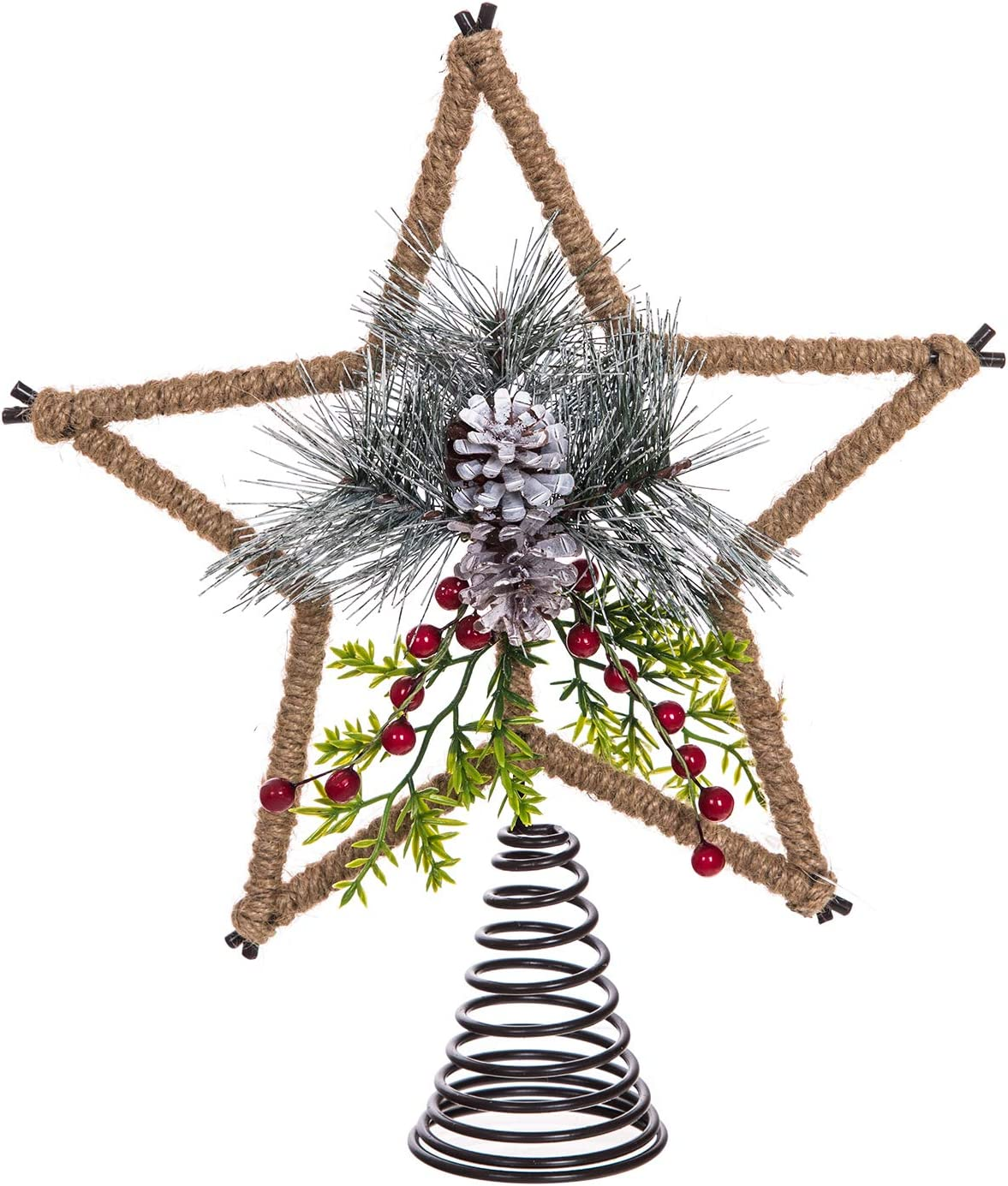 Tree Topper and Metal Star Popular brand in the world Treetop Christmas Decoration for Popular Holi