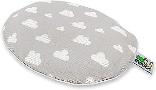 Funda para Cojín Mimos, color gris nubes - TALLA S