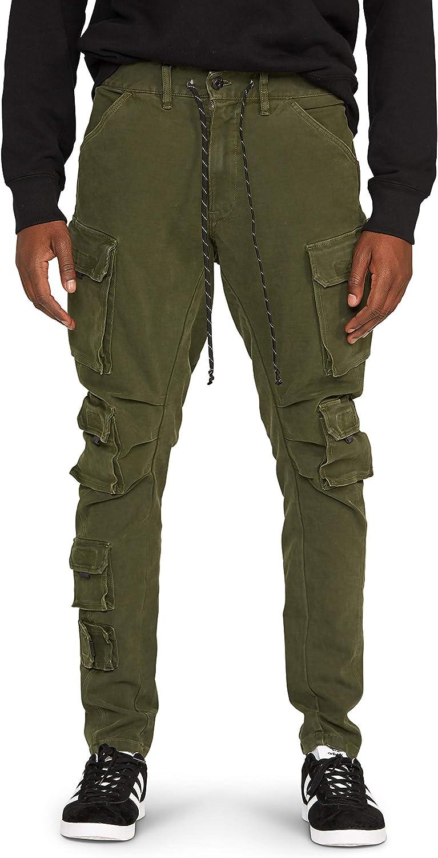 HUDSON Men's Bow Legged Cargo Pant