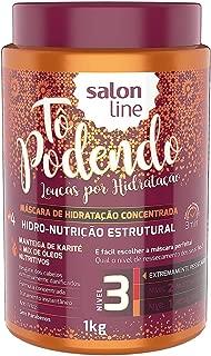 Creme Tratamento 1 kg Tô Podendo Hidro-Nutrição Estrutural Nv3 Unit, Salon Line