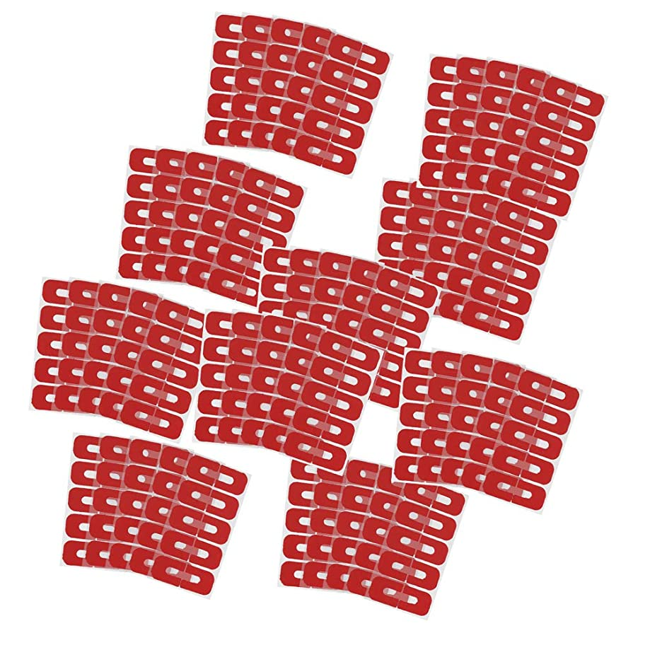 ピクニックをする住む真似るSunniMix 50個パック こぼれ防止 ネイルカバー ステッカー