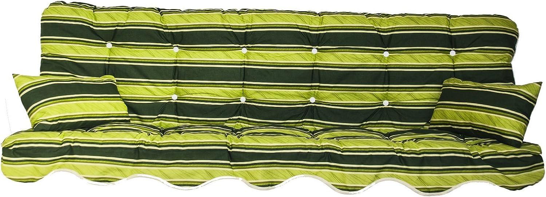 Adlatus-Kühnemuth Polsterauflage Gartenstuhlauflage Modell 870 (180x50 cm Hollywoodschaukelauflage)