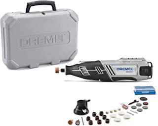 Best Dremel 8220-1/28 12-Volt Max Cordless Rotary Tool Kit- Engraver, Sander, and Polisher- Perfect for Cutting, Wood Carving, Engraving, Polishing, and Detail Sanding- 1 Attachment & 28 Accessories Review