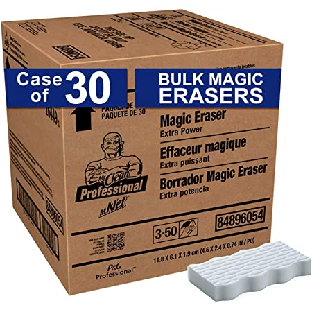 """P&G Professional-16449 Mr. Clean Extra Durable Magic Eraser Cleaning Pads- Blue, White , 4.60"""" x 2.40"""" x 5.40"""""""
