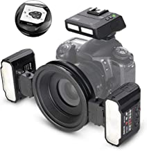 Meike MK-MT24II-C 2.4g Wireless Macro Twin Flash Kit for Canon DSLR and Mirrorless Cameras
