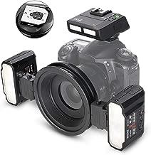 MEIKEMK-MT24II-C2.4gWirelessMacroTwinFlashKitforCanonDSLRandMirrorlessCameras