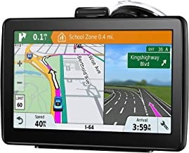 GPS Navigation for Car, 7 Inch 16GB HD Touch Screen Built-in Android System GPS Navigation System Spoken Turn-by-Turn Directions for Car Vehicle GPS Navigator with Lifetime Map Update