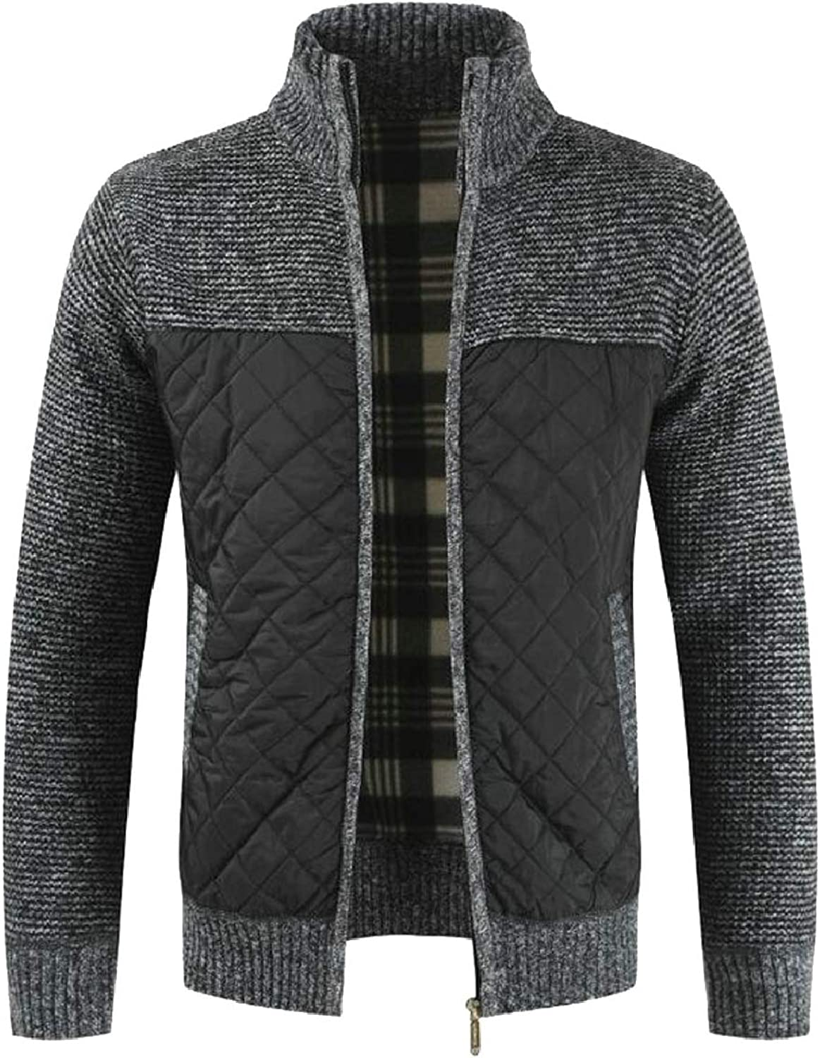 72d3858c Xswsy XG-CA Men's Vintage Zipper Front Front Front Thick Sweater Thick  Jacket Cardigan e20705