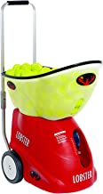 Lobster Sports – Elite Grand Five LE – Battery-Powered Tennis Ball Machine – 12 Pre-Loaded Drills & Player Styles – Fully Random Oscillation – 2-Line Feature – 150-Ball Capacity