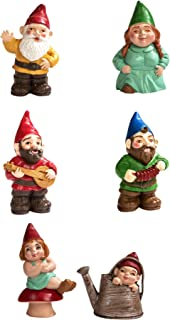Safari Ltd. Designer TOOB - Gnome Family - Realistic Hand Painted Toy Figurine Models - Quality Construction from Phthalate, Lead and BPA Free Materials - for Ages 3 and Up