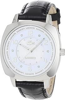 Lacoste Women's 2000603 Palma Crystal Markers on Black Strap Watch