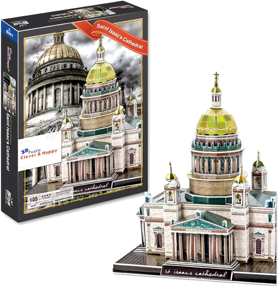 CHIMAERA Saint Isaacs Cathedral 3D Puzzle. Rare Russia St. Outlet SALE Petersburg