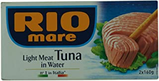 Rio Mare Light Meat Tuna In Water 160g x2