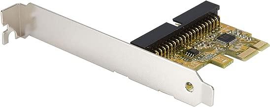 StarTech.com 1 Port PCI Express IDE Controller Adapter Card - Storage Controller - ATA - 133 MBps - PCIe x1 - PEX2IDE