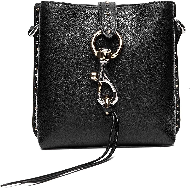 cheap Rebecca trend rank Minkoff Megan Mini Studs Bag W Feed