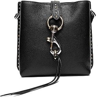 Rebecca Minkoff Megan Mini Feed Bag w/Studs Black One Size