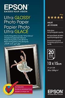 Epson Ultra Glossy Photo Paper - Papel fotográfico