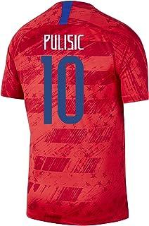 PULISIC #10 USA Away Men's Soccer Jersey 2019/20-RED