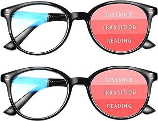 Progressive Multifocus Reading Glasses Blue Light...