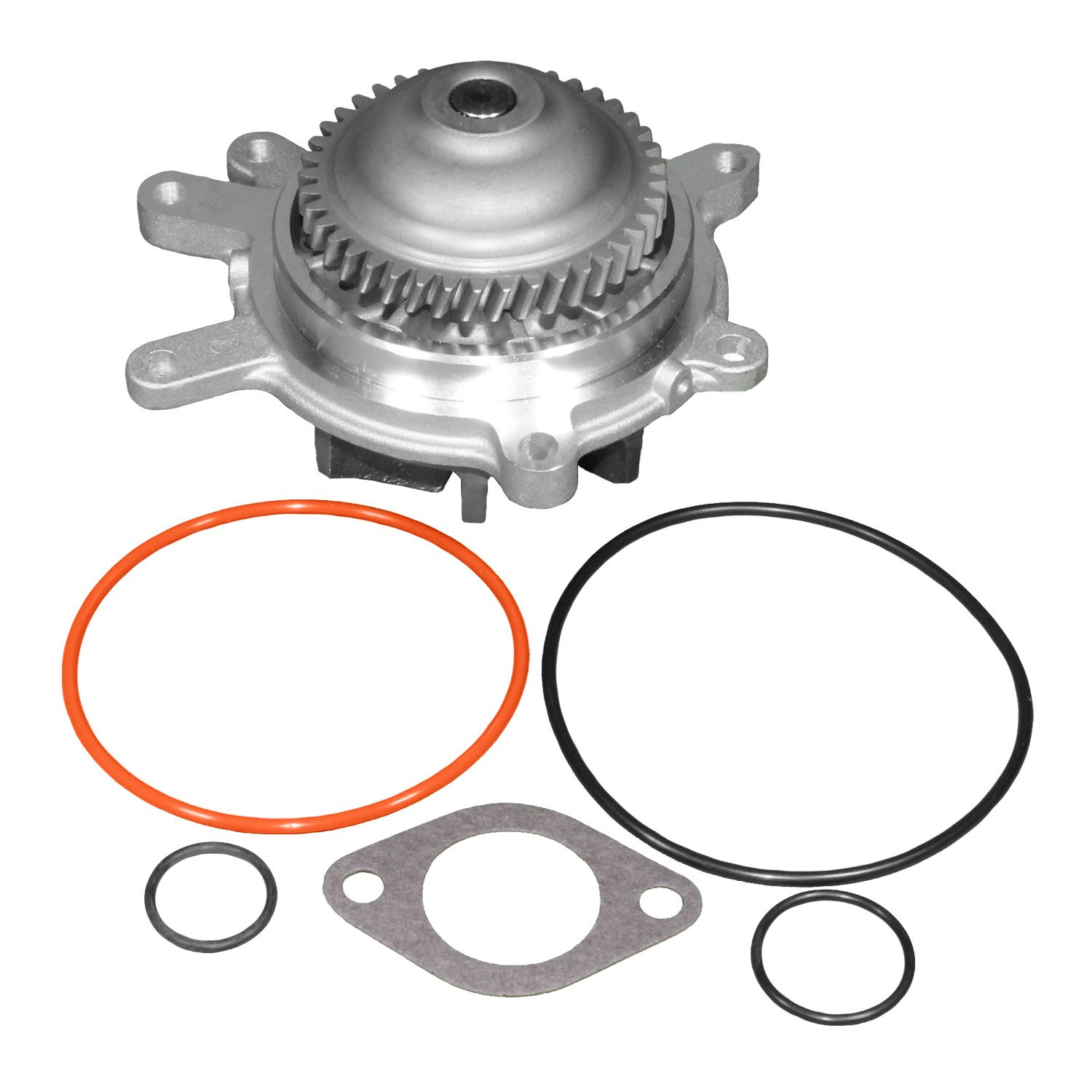 Tecoom 251-713 Professional Water Pump Assambly with with Thermostat Inlet Housing Seals and Metal Gasket