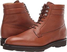 Alder Pebble Grain Leather Boot w/ Walking Sole