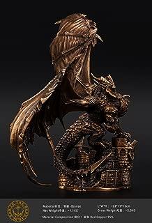 World of Warcraft Deathwing Neltharion Bronze Statue Import