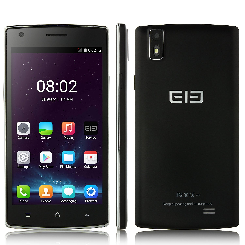 Elephone G4 Smartphone Android 4.4 MTK6582 3G 1.3GHz Quad Core 1GB 4GB 5.0 Pulgada HD Pantalla Smart Wake Doble Cámaras Negro: Amazon.es: Electrónica
