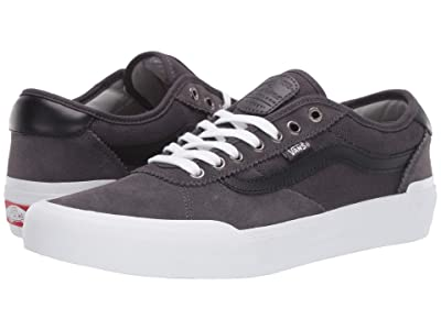 Vans Chima Pro 2 ((Heavy Canvas) Obsidian/Drizzle) Skate Shoes