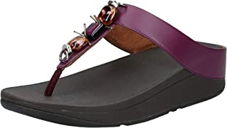 FitFlop Fino Marble Gem Toe-Thongs womens Women Thong Sandals