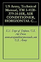 US Army, Technical Manual, TM 5-4120-379-14-HR, AIR CONDITIONER, HORIZONTAL COMPACT; 18,000 BTU/HR, 208 V, 3 PH 50/60 HZ, PIP TM 18 KH-208-3-60, (NSN 4120-01-136-9936), military manuals