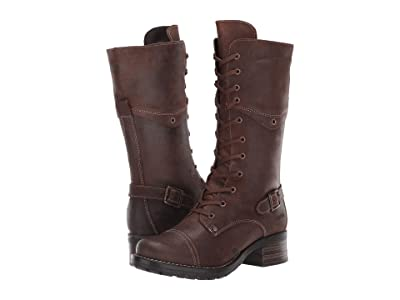 Taos Footwear Tall Crave (Chocolate Rugged) Women